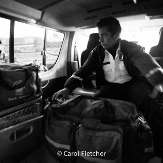 morning bomberos ambulance call guatemala