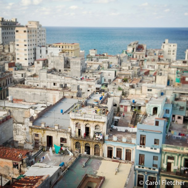 havana roof buildings skyline cuba