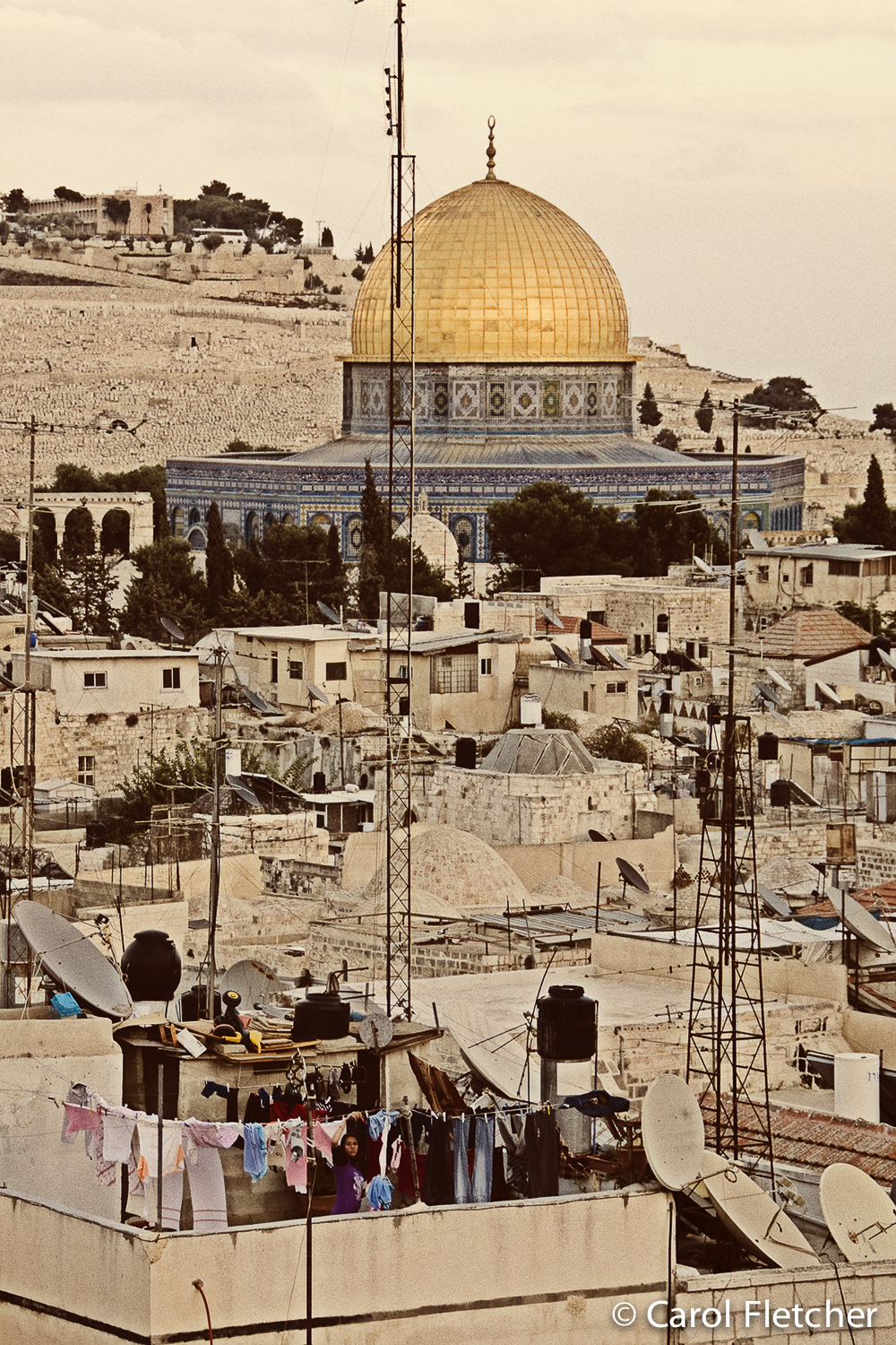 jerusalem dome rock laundry