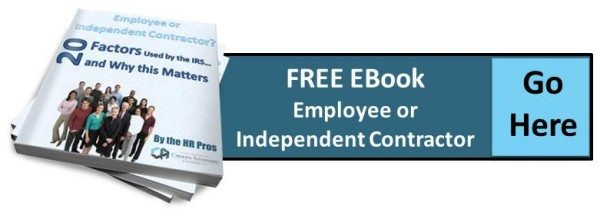 Carolina Accounting Misclassification of Workers as Independent - differences employee independent contractor