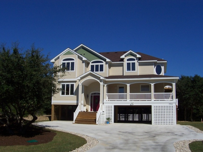 Vacation home southern shores outer banks custom built Summer homes builder