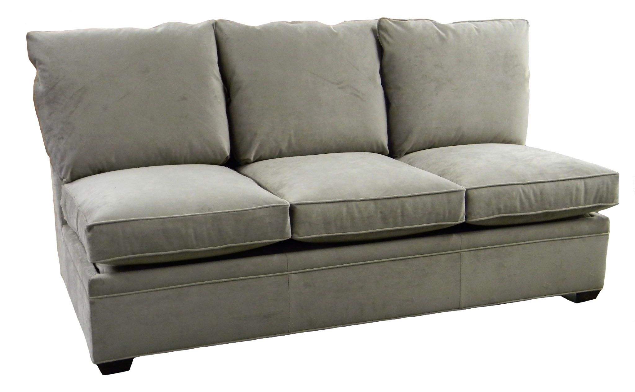 Queen Sofa Bed Ottoman Sectional Armless Sleeper Sofa Queen Custom Made Usa Nc Carolina Chair