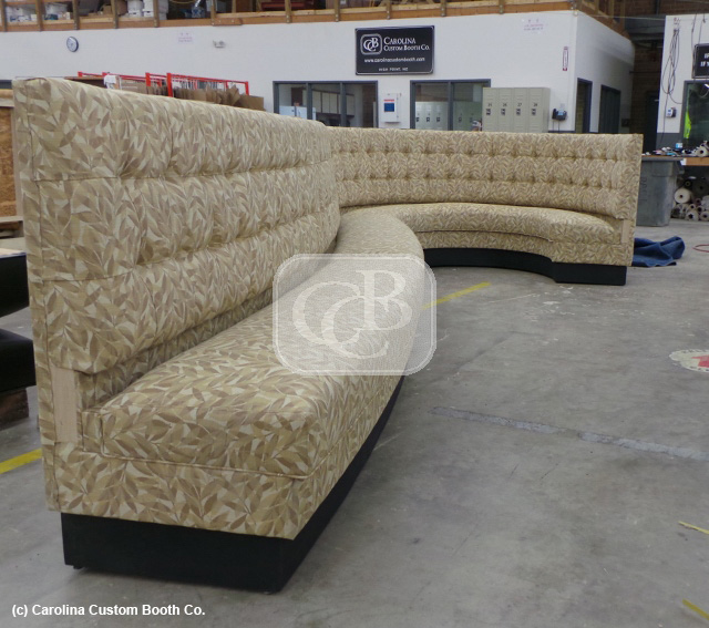 Counter Height Banquette Restaurant Booths « Carolina Custom Booth's Blog