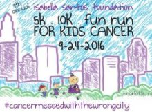 RUN FOR KIDS CANCER