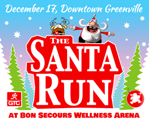 Santa Run 2016 Greenville SC