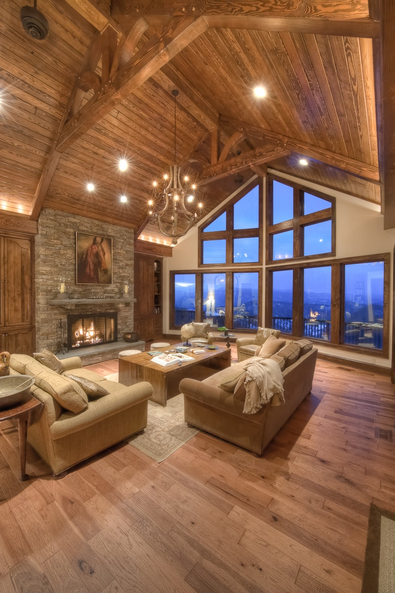 Living Room Vs Great Room Timber Frame Great Rooms Lodge Rooms And Living Rooms