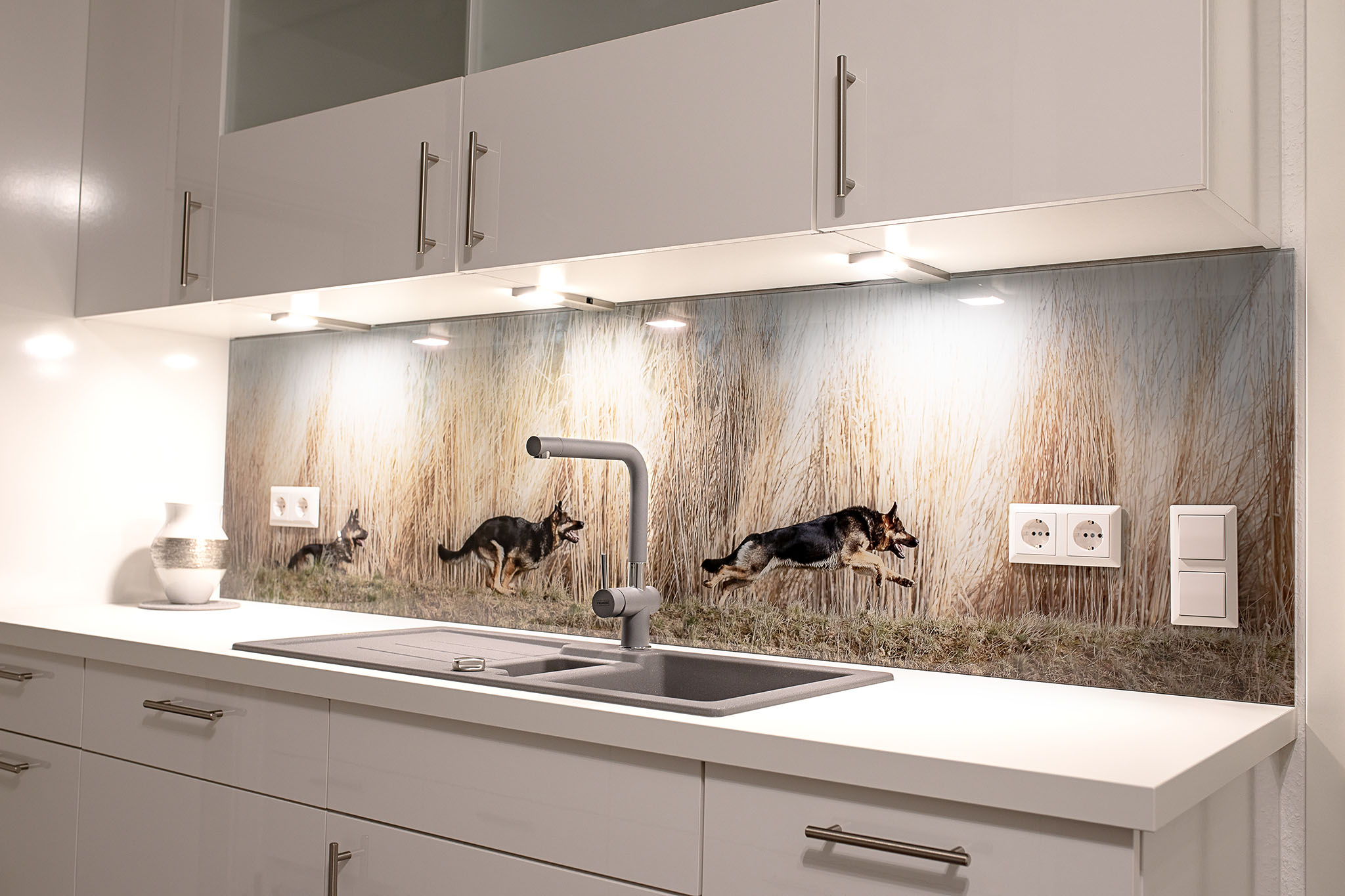 Glasplatte Küchenrückwand | Meinglaser At Alexander Jordan Rückwände ...