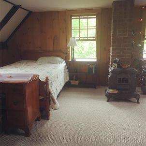 The guest bedroom!