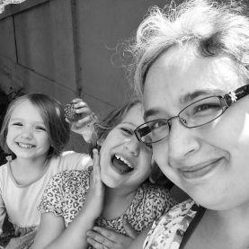 Selfie with my favorite kids.