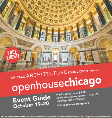 OHC 2013 Event Guide Printed and Distributed by Chicago Tribune