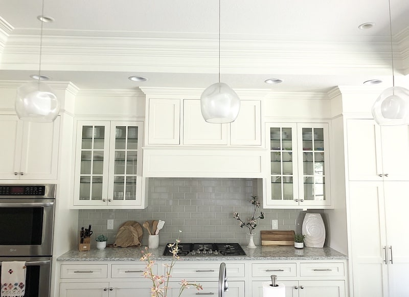 Spacing Between Kitchen Cabinets How To Fill Space Between Cabinets And Ceiling | Caroline