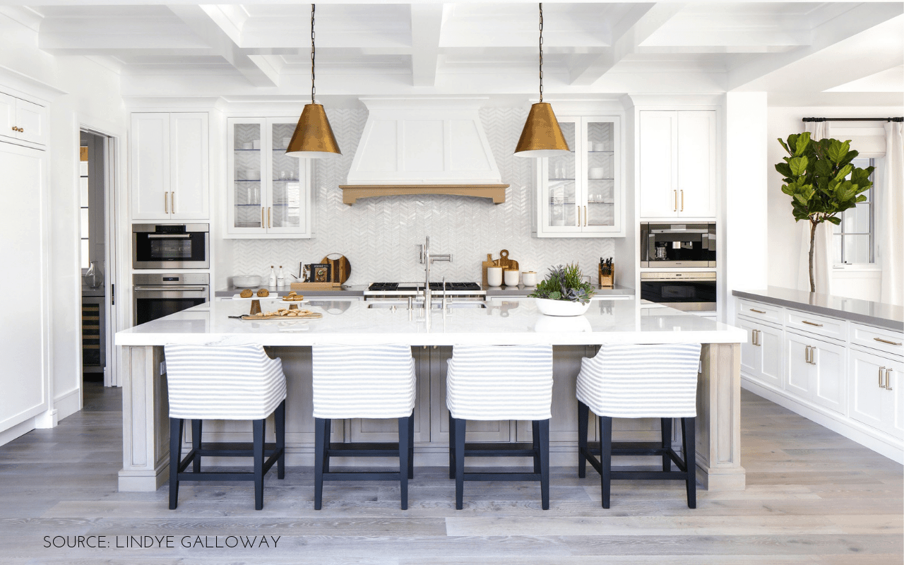 Hanging Lights Over Island Kitchen How To Hang Pendant Lighting Over Kitchen Island Caroline On Design