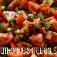 Catherine's Italian Salsa