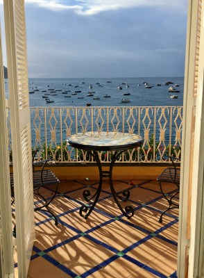 Room with a view in Positano