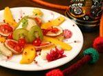 Salada de frutas indiana