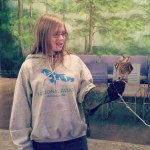 amber with the peregrine
