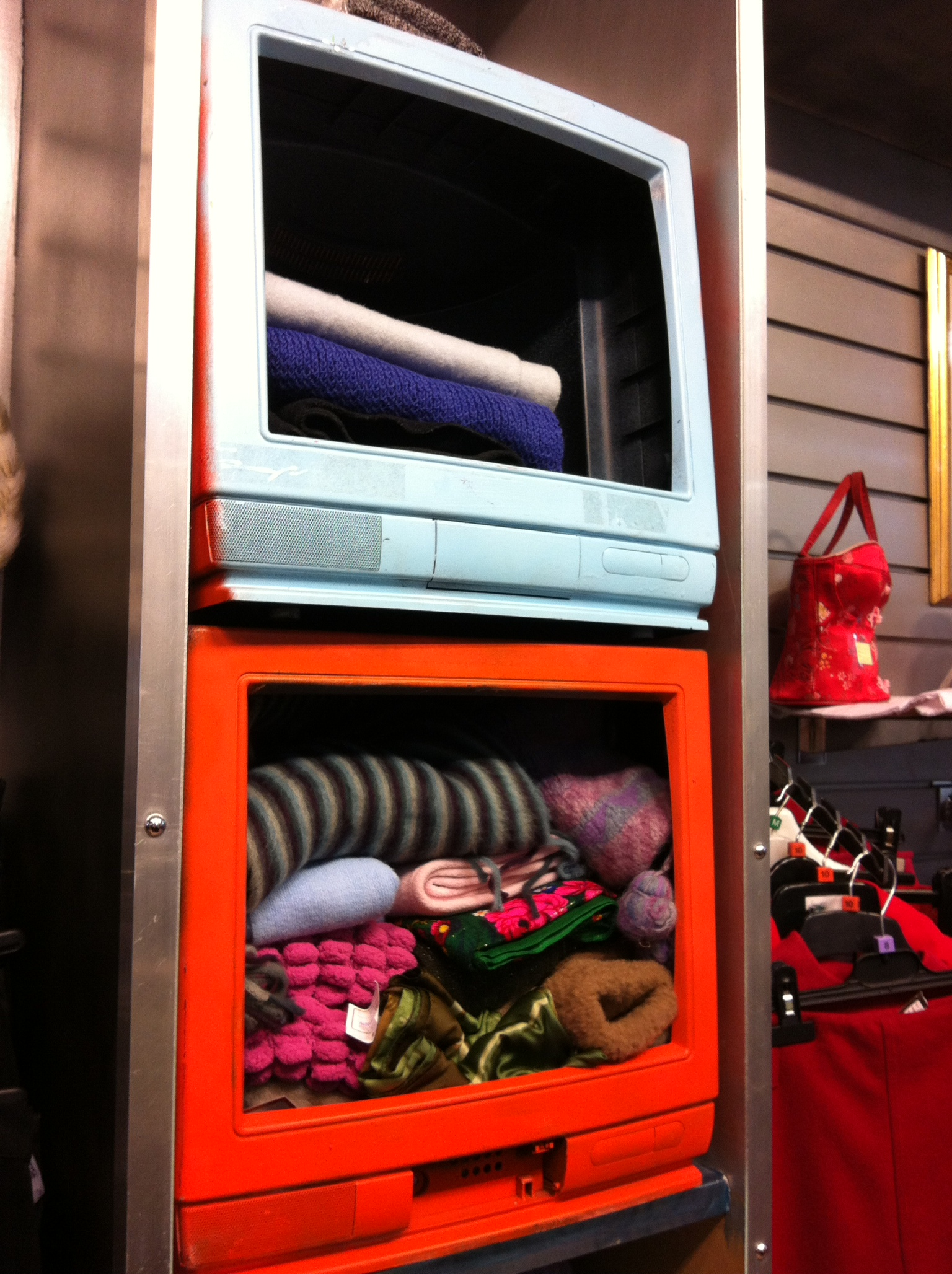 Tv Shop Perth Inventive Upcycling At Push Charity Shop In Perth Caron Ironside