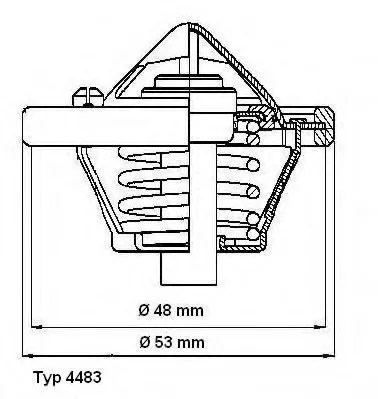 thermostat - MAZDA 2 (DY) - Parts