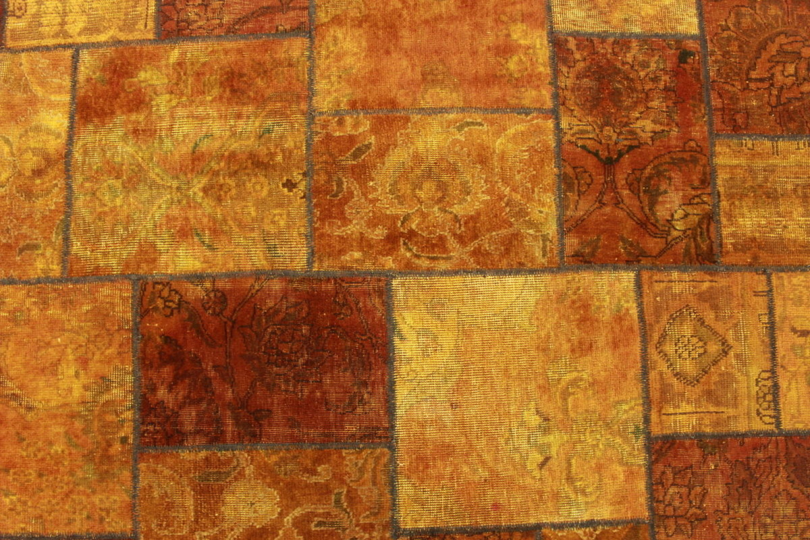 Teppich Orange Patchwork Teppich Orange In 240x160cm 1001 2089 Bei