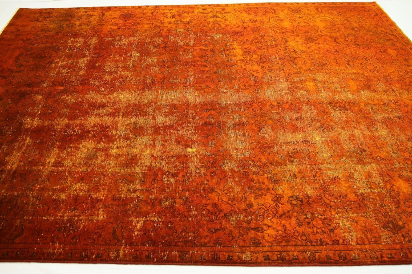 Teppichboden Orange Vintage Teppich Orange In 330x250cm