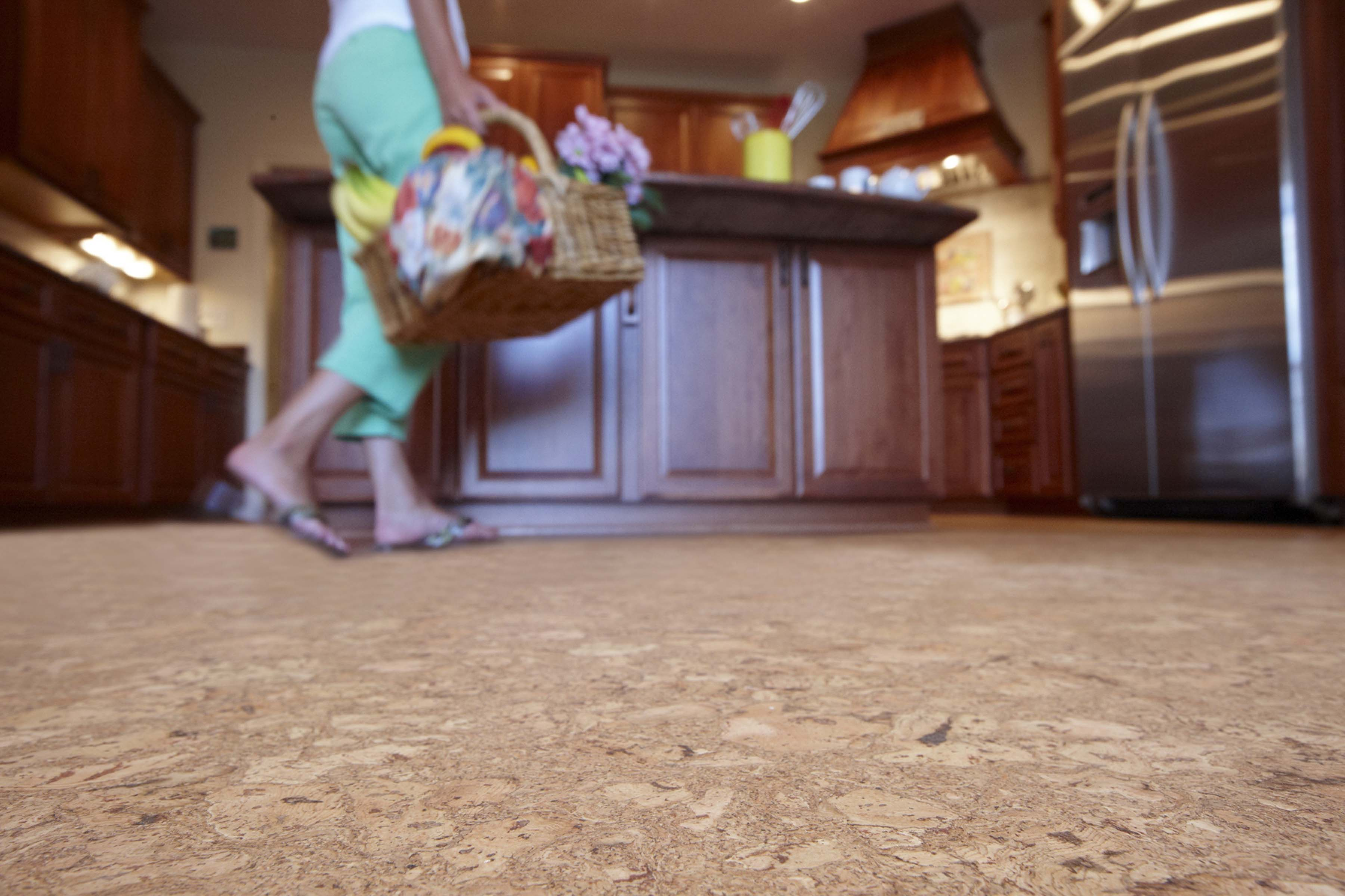 cork cork flooring kitchen Cork