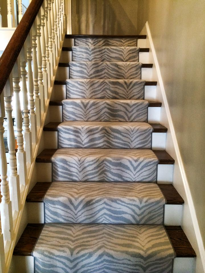 Boston Carpet Rug Picture Animal Print Stair Runner