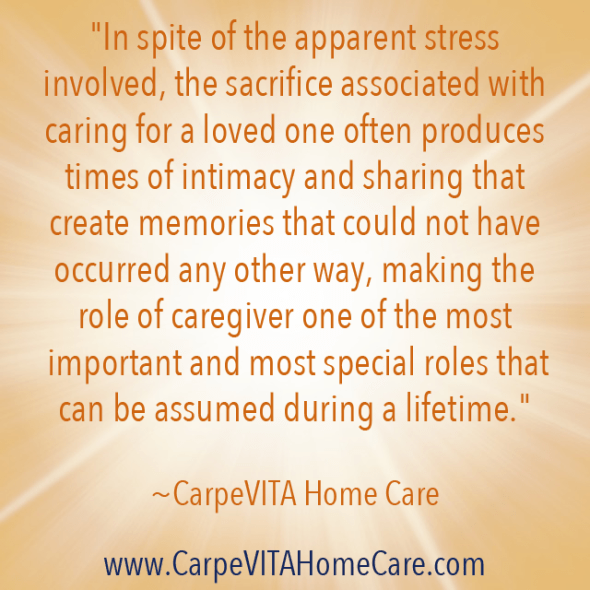 Important Role of Caregiver Quote Image