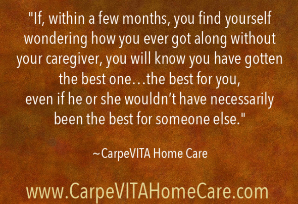 The Best Caregiver Quote Image