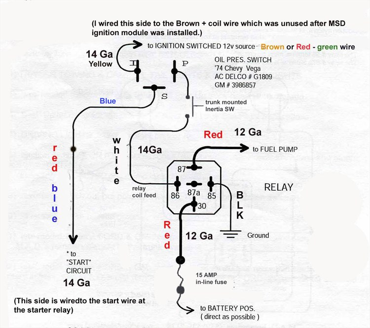 Holley Red Fuel Pump Wiring Diagram - Wiring Diagram Library