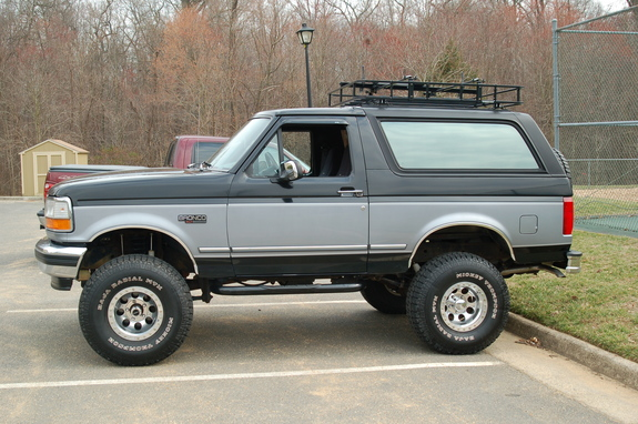 1994 Ford Bronco Roof Rack