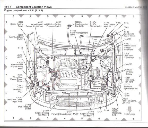 2003 ford ranger engine wiring diagram