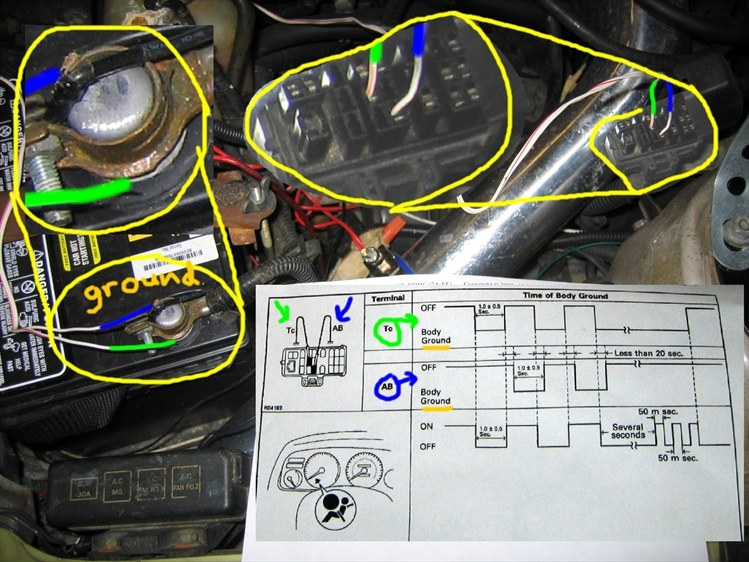 93 corolla air bag  Module replacement - Toyota Nation Forum