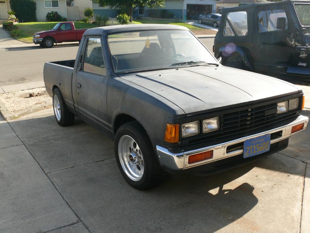 Pick Up Erikosbad 1986 Nissan 720 Pick Up Specs Photos