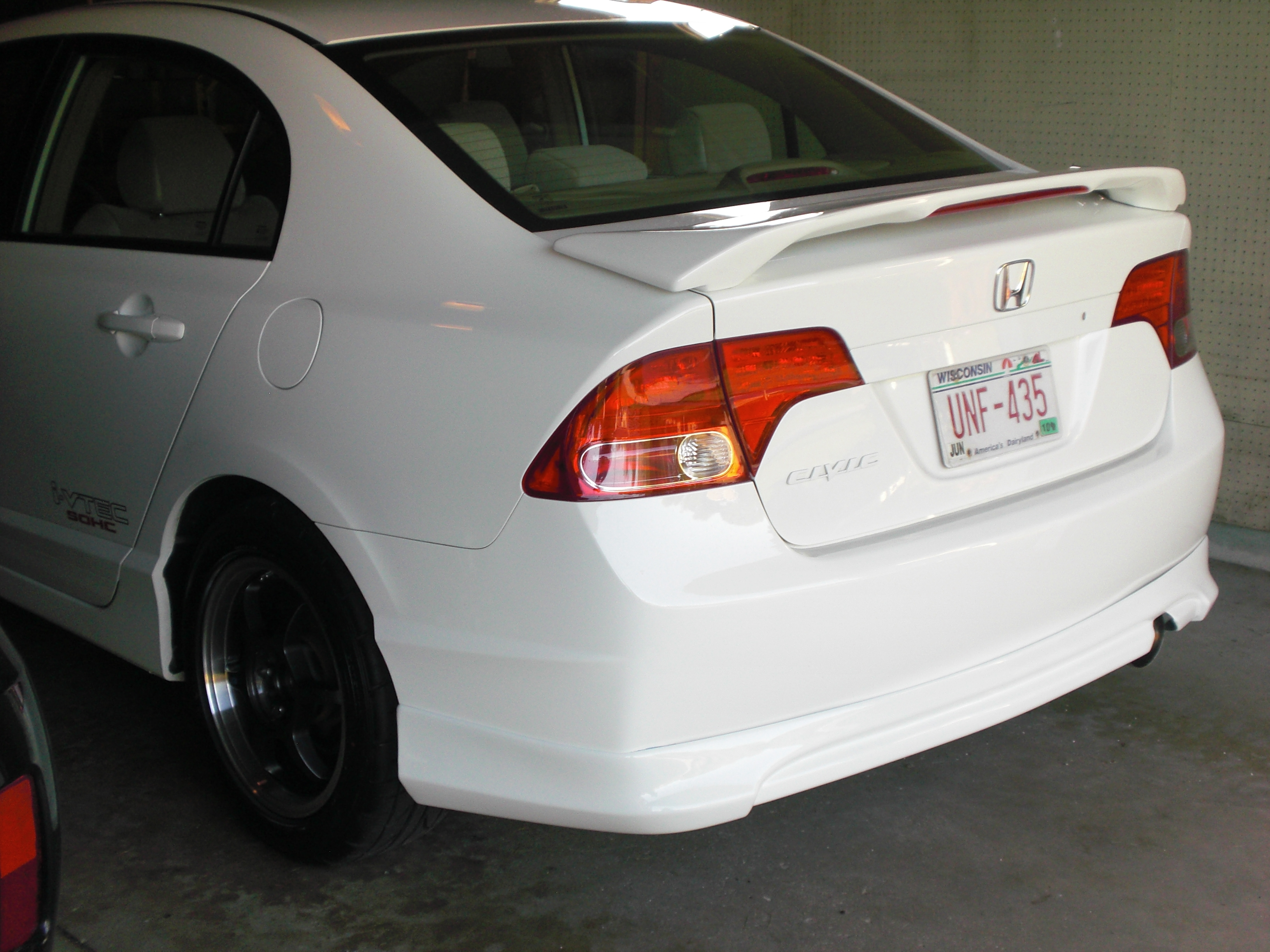 Euro Dezigns Octaneman 2007 Honda Civicex Sedan 4d Specs Photos