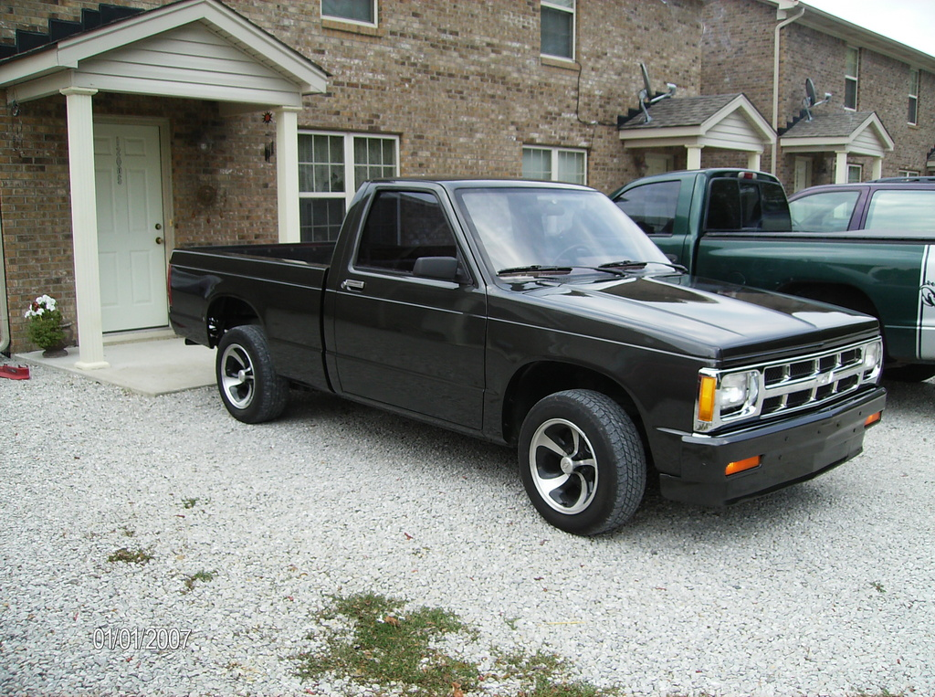 my87isick 1987 Chevrolet S10 Regular Cab Specs, Photos, Modification