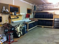 Woodwright's Shop Workbench Plans, Build Tire Rack Wood ...