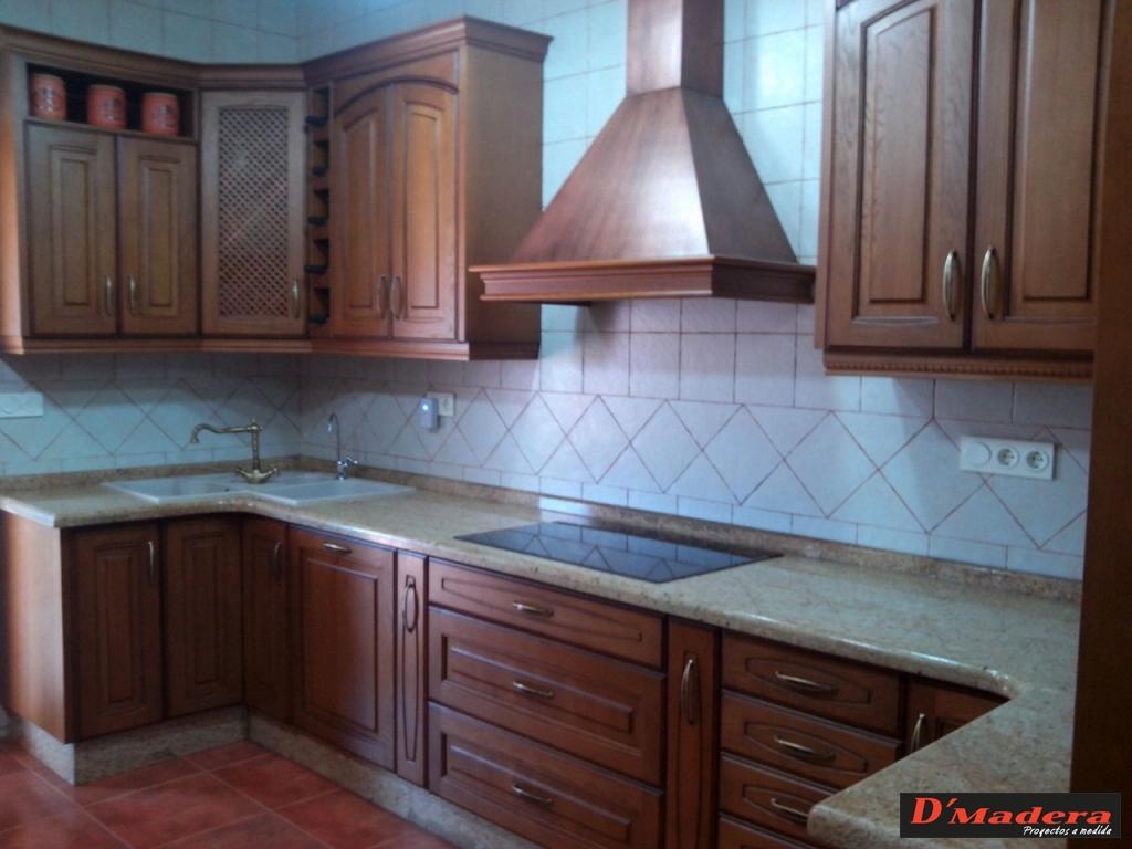 Muebles De Cocina En Madera Rustica | Muebles Cocinas Baratas ...