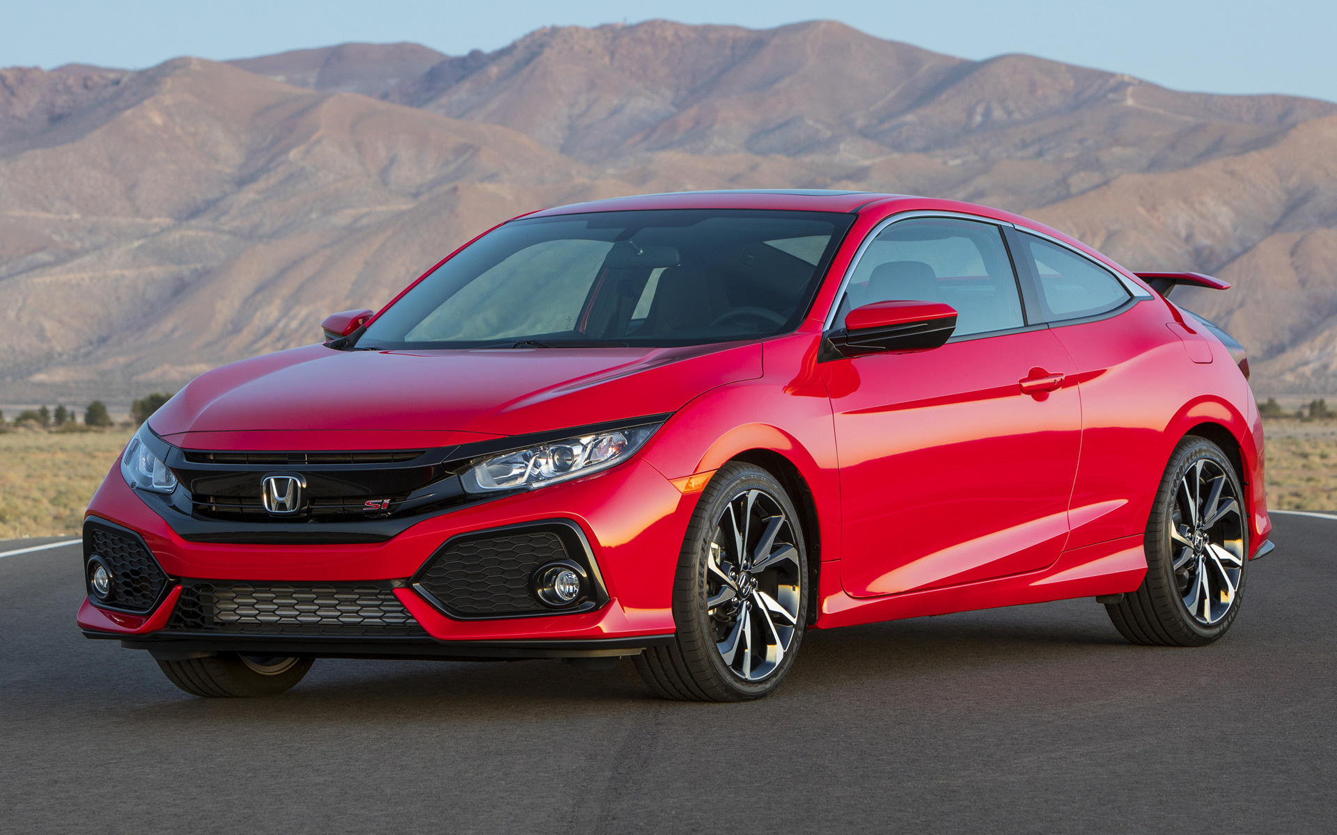 Honda Phone Wallpapers 2017 Honda Civic Si Coupe Us Wallpapers And Hd Images Car Pixel
