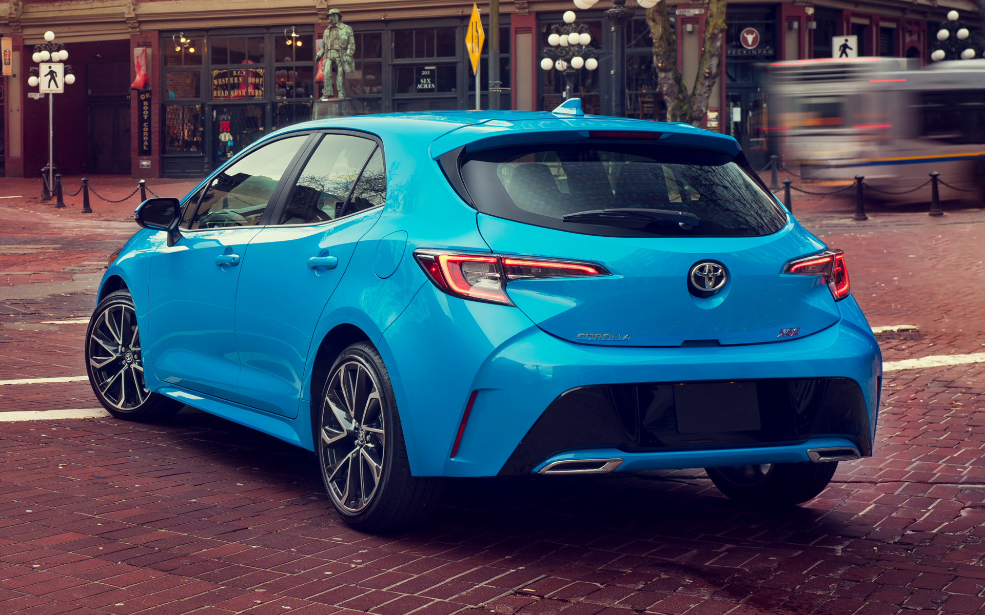 Car Jeep 2019 Toyota Corolla Xse Hatchback - Wallpapers And Hd