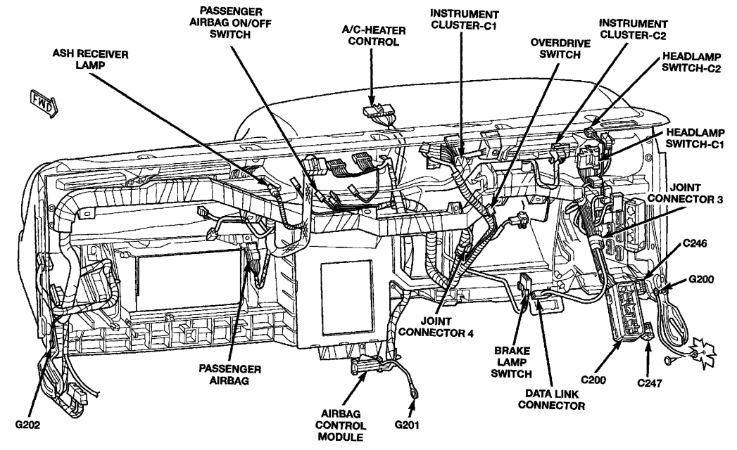 2004 dodge dakota wiring diagram
