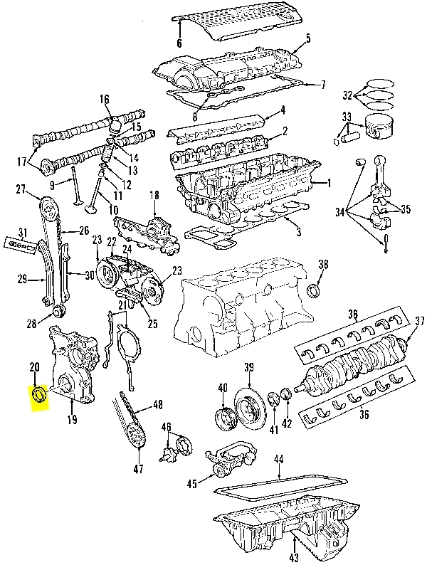 2002 bmw 325i engine diagram