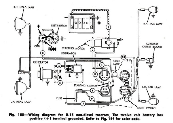 ford 4000 tractor wiring diagram
