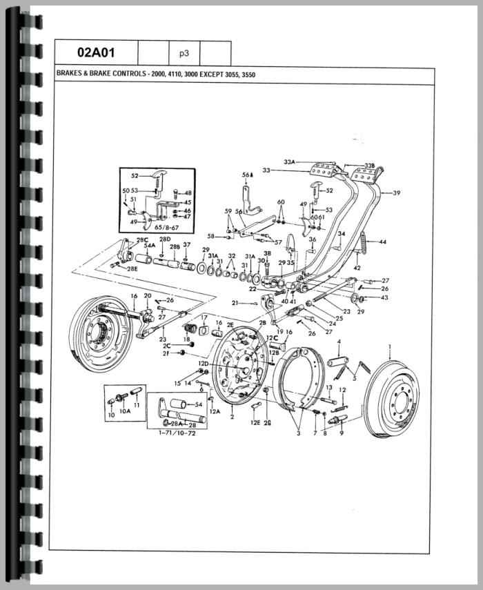 ford 3600 tractor wiring schematic