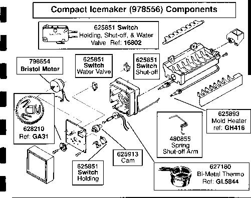 modual ice maker diagnostic sheet with regard to