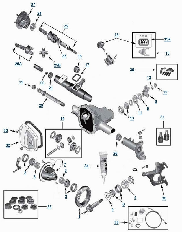 chevy front end parts diagram