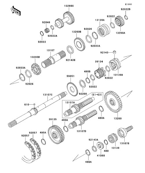 kawasaki mule 2510 engine diagram