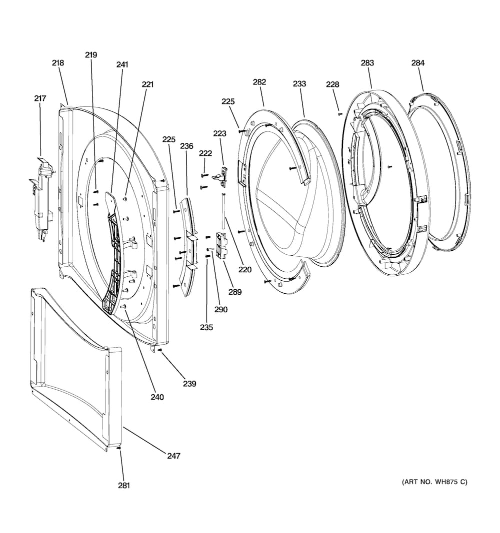 lg front load washer wiring diagram