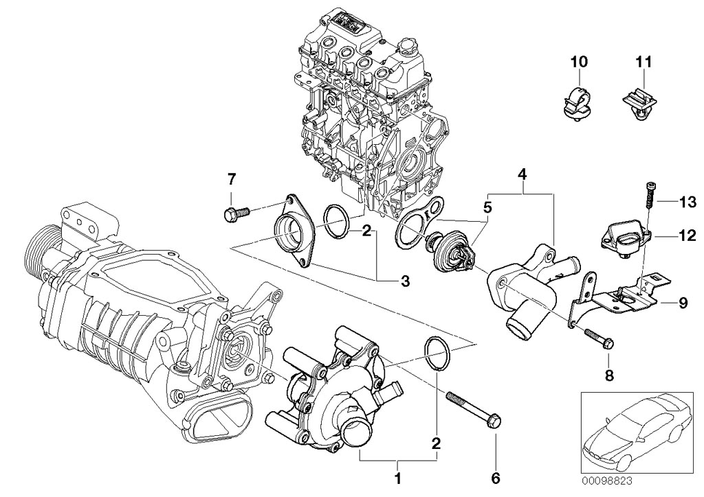 mini cooper engine diagrams