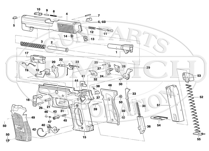 walther p22 parts diagram