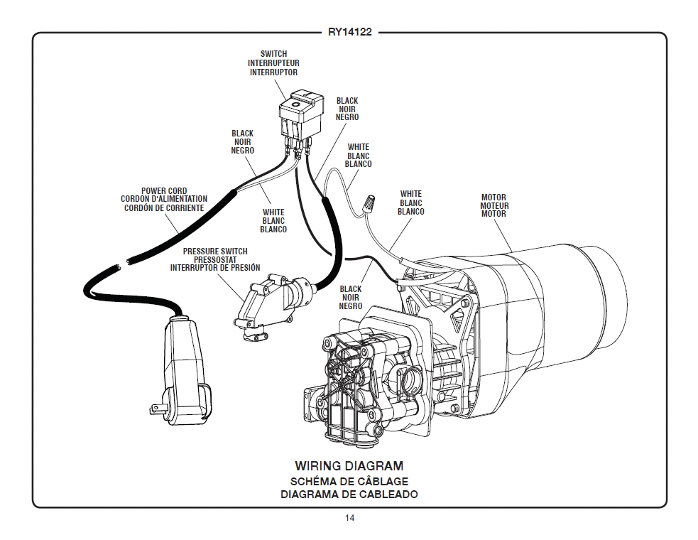 pressure washer burner wiring diagram
